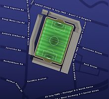 1966 World Cup at Goodison Park by davewilldesign