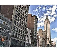 Empire State Building, New York City Photographic Print