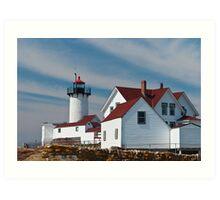 Eastern Point Light - Gloucester Massachusetts Art Print