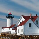 Eastern Point Light - Gloucester Massachusetts by Steve Borichevsky