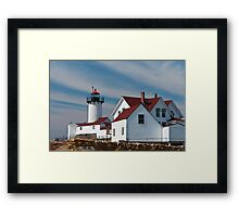 Eastern Point Light - Gloucester Massachusetts Framed Print