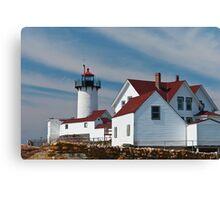 Eastern Point Light - Gloucester Massachusetts Canvas Print