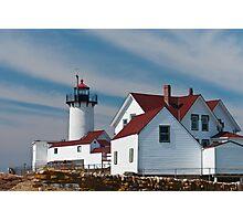 Eastern Point Light - Gloucester Massachusetts Photographic Print