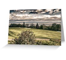 Quebec Countryside, Canada Greeting Card
