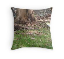 Goanna Tails Throw Pillow