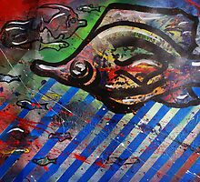 Gyotaku Dreams - Japanese Fish Rubbing by Jonathan Manning