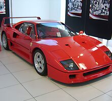 Ferrari F-40 by TigerOPC