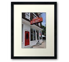 Real Estate & Antiques Framed Print