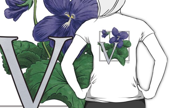 V is for Violet by Stephanie Smith