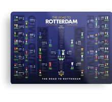 The Road to Rotterdam - 1985 Cup Winners Metal Print