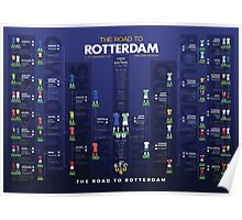 The Road to Rotterdam - 1985 Cup Winners Poster