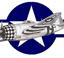 P-47 Thunderbolt by dangerpowers123
