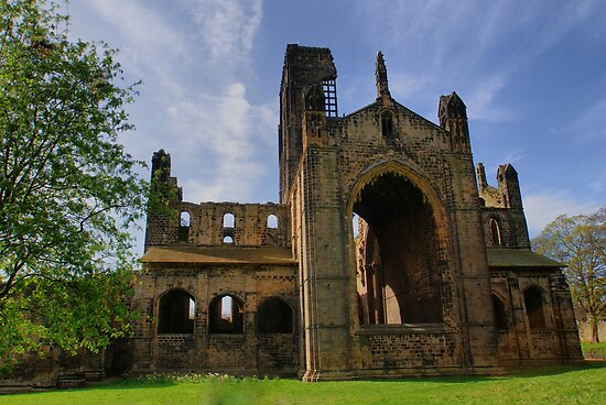 Kirkstall Abbey  by Sandra Cockayne