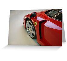 Ferrari Enzo - Detail Greeting Card