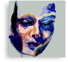 Face in acrylic Canvas Print