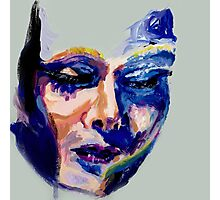 Face in acrylic Photographic Print