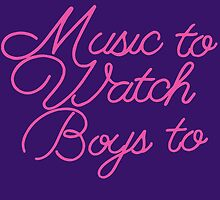 Music To Watch Boys by Sirianni1991