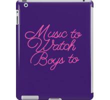 Music To Watch Boys iPad Case/Skin