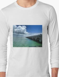 Seven Mile Bridge, The Keys Long Sleeve T-Shirt