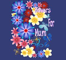 Flowers For Mum Womens Fitted T-Shirt
