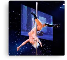 Pole Diva Canvas Print