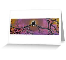 Birds Of A Feather, Tree Painting Greeting Card