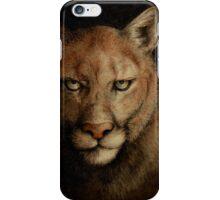 Cougar Eyes iPhone Case/Skin