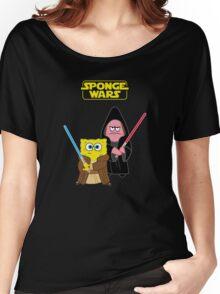 Sponge Wars Women's Relaxed Fit T-Shirt