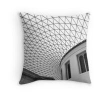Glass Divide Throw Pillow