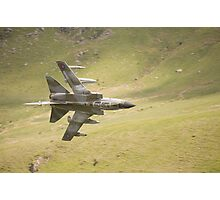 Warton Tornado GR4 ZG773 makes a low pass of CAD West Photographic Print