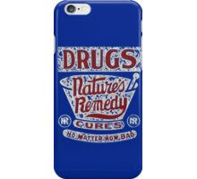 Funny Vintage Drugs T-shirt iPhone Case/Skin