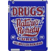 Funny Vintage Drugs T-shirt iPad Case/Skin