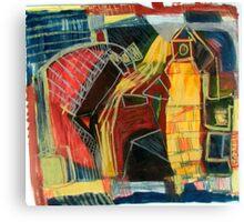 street scape Canvas Print