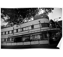 telegraph hotel. hobart, tasmania Poster