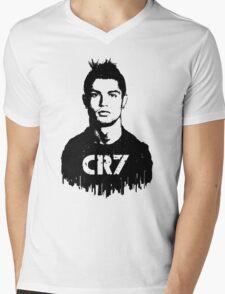 CR7 tattoo Mens V-Neck T-Shirt