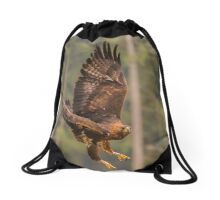 Bird of Prey - Golden Eagle Drawstring Bag