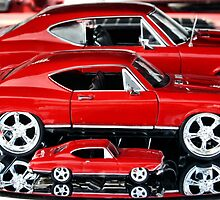 Red Hot Wheels by luckylarue