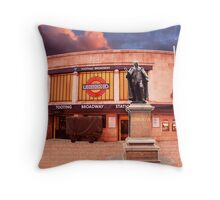 Tooting Broadway Station, SW17, London Throw Pillow