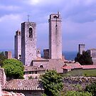 Towers, San Gimignano, Tuscany, Italy by johnrf