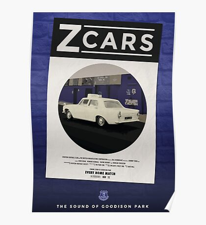 Z Cars - The sound of Goodison Park Poster