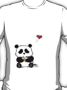 Panda Love Bamboo T-Shirt