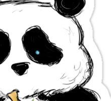 Panda Love Bamboo Sticker