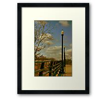 Repetition at Genesee Valley Park Framed Print