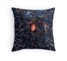 Asphyxiation Through Space (2010) Throw Pillow