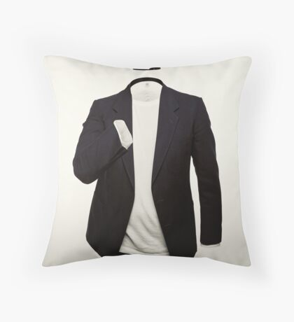The Man Who Could Not Taste Throw Pillow
