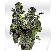 Metal Gear Solid Snake Eater Poster