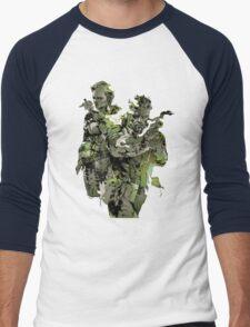 Metal Gear Solid Snake Eater Men's Baseball ¾ T-Shirt