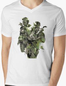 Metal Gear Solid Snake Eater Mens V-Neck T-Shirt