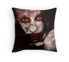 Vengeance takes Form Throw Pillow