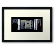 The Hunter and the Hunted - Cornered! Framed Print